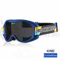 Ochelari ski copii ROCKBROS navy blue