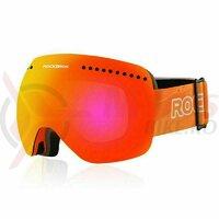 Ochelari ski ROCKBROS magnetic, anti-aburire, portocaliu