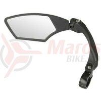 Oglinda bicicleta M-Wave 'Spy Space' 3D, ajustabila, clema alu 22,2mm, pentru E-bike, montare partea stanga