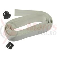 Padded handlebar tape set Carbonio weiß w. carbon look