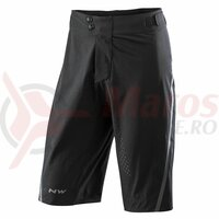 Pantalon scurti Northwave Domain negri