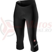 Pantaloni 3/4 Castelli Velocisima Knick de dama negru/alb/gri