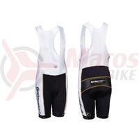 Pantaloni ciclism Continental albi marime XXL