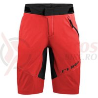 Pantaloni Cube Edge Baggy Shorts Red