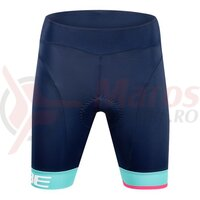 Pantaloni Cube Teamline WS Cycle Shorts Blue Mint
