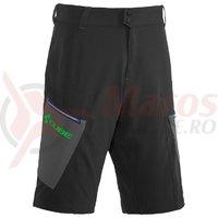 Pantaloni Cube Tour Shorts negri