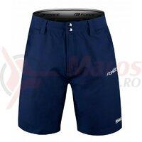 Pantaloni Force Blade MTB cu sub-pantaloni cu bazon Navy