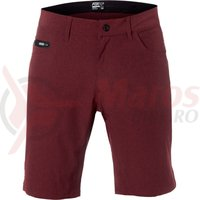 Pantaloni Fox Machete Tech short dark red