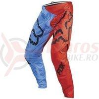 Pantaloni Fox MTB-Pant Demo Pant Blue/Red