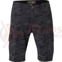 Pantaloni Fox Slambozo Camo Cargo Short black cam
