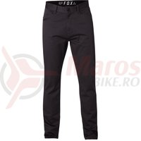 Pantaloni Fox Stretch Chino Pant black vin