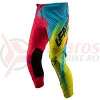 Pantaloni Leatt Pant GPX 4.5 red/lime