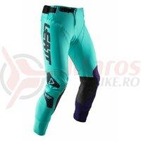 Pantaloni Leatt Pant Gpx 5.5 I.K.S. Lime/Blue