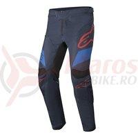Pantaloni lungi Alpinestars Racer darknavy/mid blue/burgundy