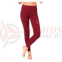 Pantaloni lungi Fox Enduration Legging red