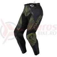 Pantaloni Lungi O'Neal Mayhem Covert - Negru/Verde