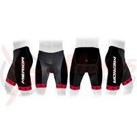 Pantaloni Merida 376 rosu/negru