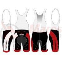 Pantaloni Merida rosu/negru/alb Team replica