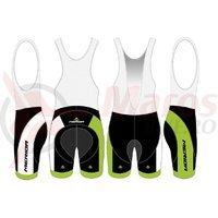 Pantaloni Merida verde/negru/alb Sport 1