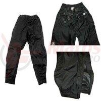 Pantaloni ploaie Hock Rain Guard Zipp uni/black, pana la 175 cm