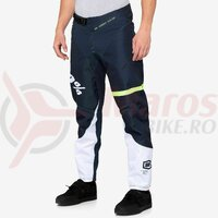 Pantaloni R-Core Pants Dark Blue/Yellow
