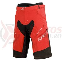 Pantaloni scurti Alpinestars Drop 2 Shorts red/black