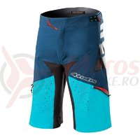 Pantaloni scurti Alpinestars Drop Pro poseidon blue/atoll blue