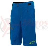 Pantaloni scurti Alpinestars Outrider Water Resistant Base Shorts dark blue/lime