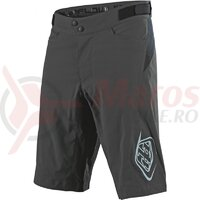 Pantaloni Scurti Bicicleta Troy Lee Designs Flowline Walnut Cu Bazon 2020