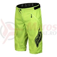 Pantaloni Scurti Bicicleta Troy Lee Designs Sprint Flo Yellow 2017