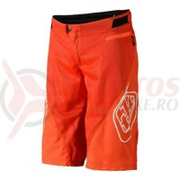 Pantaloni Scurti Bicicleta Troy Lee Designs Sprint Orange