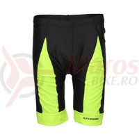 Pantaloni scurti ciclism CROSSER CW-17-106 cu bazon negru/albastru