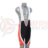 Pantaloni scurti Crosser rosu/negru