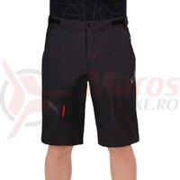 Pantaloni scurti Cube Blackline rain shorts Negru