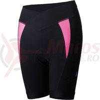 Pantaloni scurti dama BBB BBW-279 Omnium negru/roz