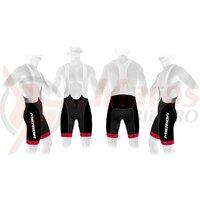 Pantaloni scurti Merida 376 rosu/negru