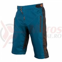 Pantaloni Scurti O'Neal Element Fr Hybrid - Petrol/Portocaliu