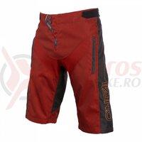 Pantaloni Scurti O'Neal Element Fr Hybrid - Rosu/Portocaliu