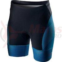 Pantaloni scurti pentru triatlon Castelli Free W Tri de dama albastru multicolor