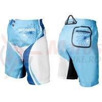 Pantaloni scurti Shimano femei MTB olympian blue/bonnie blue/white