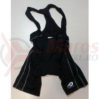 Pantaloni scurti Shimano indoor cu bretele negru