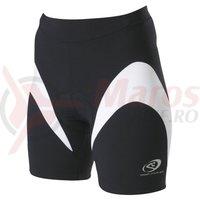 Pantaloni scurti Shimano indoor femei negru/alb
