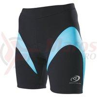 Pantaloni scurti Shimano indoor femei negru/albastru