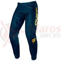 Pantaloni Shift 3Lack Label pant navy/gold