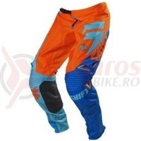 Pantaloni Shift MX-Pant Faction pant orange/blue