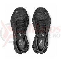 Pantofi alergare dama On Cloud X Black Asphalt