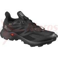 Pantofi alergare femei Salomon Supercross Blast GTX W Negru