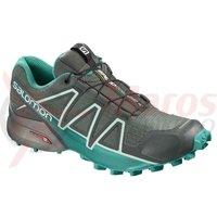 Pantofi alergare Salomon Speedcross 4 Gore-tex balsam gr/tropi femei