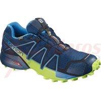 Pantofi alergare Salomon Speedcross 4 Gore-Tex poseidon/navy bl albastru barbati