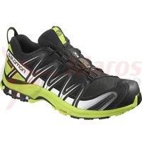 Pantofi alergare Salomon XA Pro 3D Gore-Tex negru/verde lime barbati